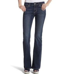 WHBM High Rise Flare Leg Blanc Jeans Size 2S